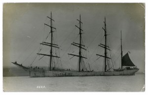 Hera at sea