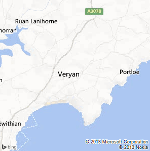 Portloe Map